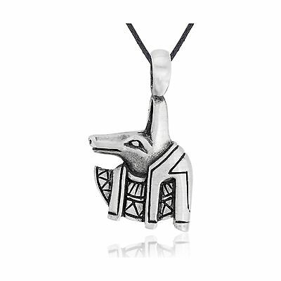 Dan's Jewelers Egyptian Anubis Necklace Pendant Fine Pewter Jewelry New