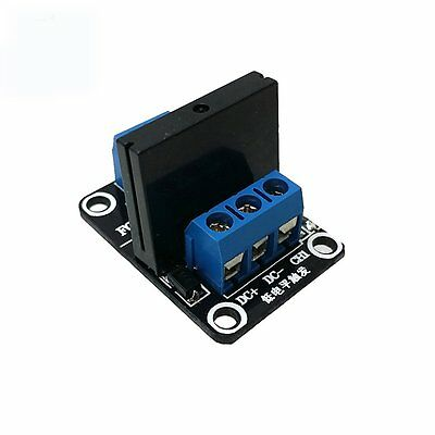 5V 1 Channel Solid State Relay Module Low Level Trigger AC 240V 2A PLC Arduino