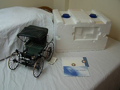 Franklin Mint Duryea Horseless Carriage 1893 1.8 Scale Diecast Model