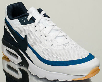 on sale d11a1 0fe21 NIKE AIR MAX BW Ultra men lifestyle sneakers NEW white armory navy 819475-100  -  93.75   PicClick