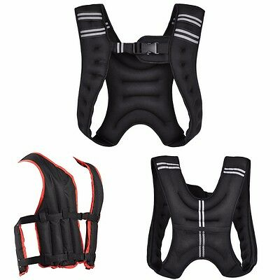 Gallant Weighted Vest 5kg 10kg 20kg Training Running Adjustable Jacket Crossfit