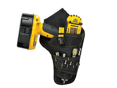Kunys KUNSG5023 SG-5023 Drill Holster Pouch Holds Most T-handle Cordless Drills