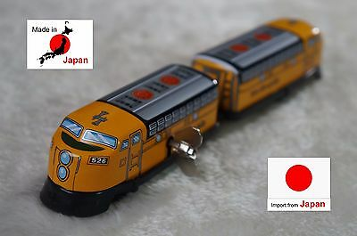 kiTki made in Japan windup tin plate toy chain Rio Grande train collectible JR
