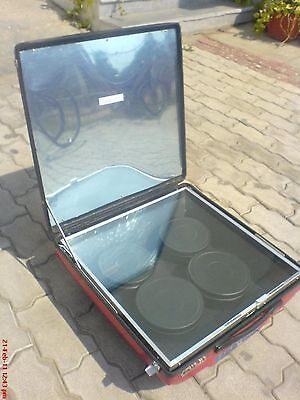 Solar Cooker - Cooks For 4 Using Sunlight -Rice Curry Boiling Heating Pasteurize