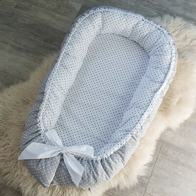 Double-sided Baby Pod Nest for newborn co sleeper, sleep bed, cot, snuggle nest