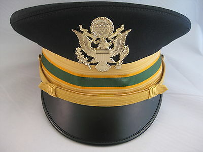 Kingform US Army ASU Dress Blue Company Grade Military Police Hat Cap 7 1/4 NEW