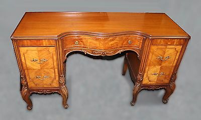 Vintage French Provincial  Louis XV Style Vanity Desk