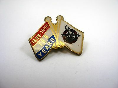Vintage Collectible Pin: Loyal Order of the Moose LOOM 100 Years 1888 1988