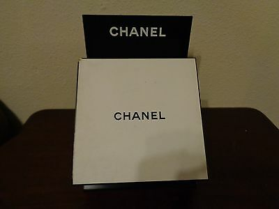 Chanel Store Display Stand & Box Black & White