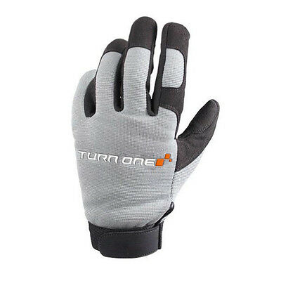 Turn One Motorsport Mechanics Pit / Paddock Gloves Karting Race Rally GREY