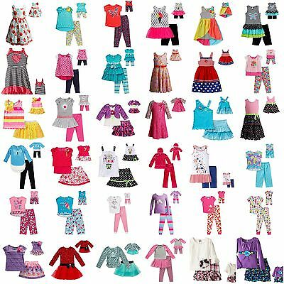 Dollie & Me Girl 4-14 and Doll Matching Dress Skirt Legging Outfit American Girl