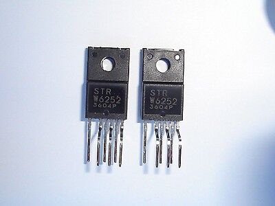 STR W6252 IC. STRW6252 STRW 6252. Switching Power Supply IC