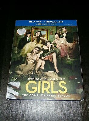 Girls: The Complete Third Season (Blu-ray Disc, 2015, 2-Disc Set)