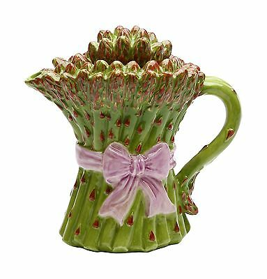 Cosmos 20831 Gifts Asparagus Ceramic Teapot 5-1/8-Inch New