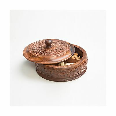 Rusticity Wooden Dry Fruits Box ( with removable partitions ) | Handmade ... New