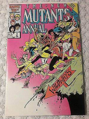 The New Mutants Annual #2 (Jan 1986, Marvel) First appearance of Psylocke