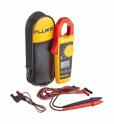 Fluke 325 40/400A AC/DC 600V AC/DC TRMS Clamp Meter with Frequency Temp a... New