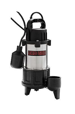 Red Lion RL-SS100T 115V 1 HP Premium Submersible Stainless Steel Sump Pump New