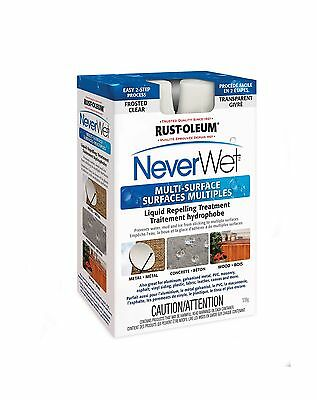 Rust-Oleum Never Wet Liquid Repelling Treatment 275510 Frosted Kit New