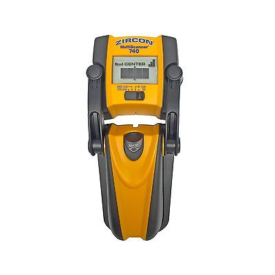 Zircon MS 740 Center-Finding Stud Finder with Metal Detection and Live AC... New