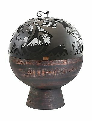 Good Directions FB-4 26-Inch Wrought Iron Fire Bowl with Orion FireDome New