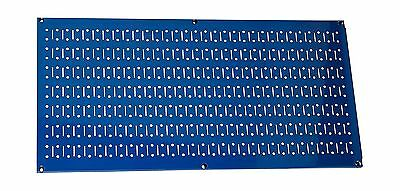Wall Control 30-HP-1632 BU Horizontal Metal Pegboard Tool Board Panel 16-... New
