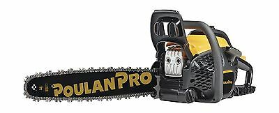 "Poulan Pro PR5020 50cc 20"" 2 Cycle Gas Powered Chainsaw New"