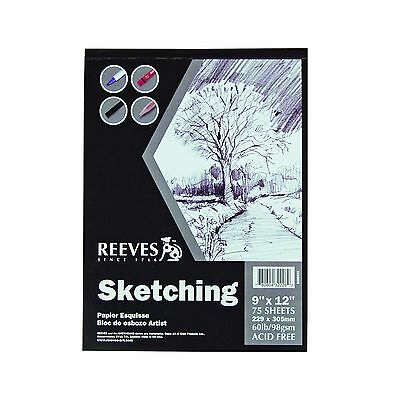 Reeves 9-Inch by 12-Inch Sketching Paper Pad New