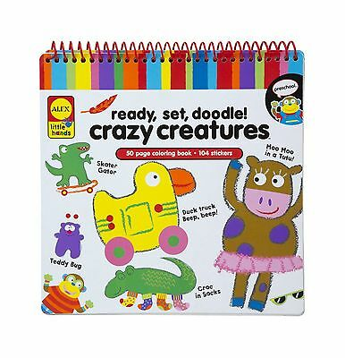 ALEX Toys - Early Learning Ready Set Doodle - Crazy Creature Little Hands... New
