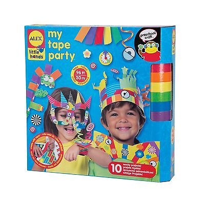 Alex Toys Little Hands My Tape Party Craft Kit Assorted Colors New
