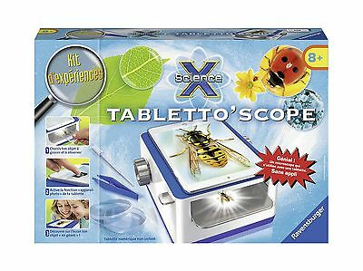 Ravensburger Games 18932 Science X Tabletto' Scope (Franais/French) New