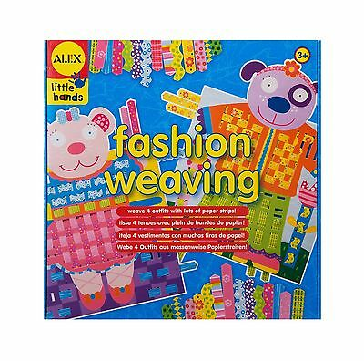 ALEX Toys - Early Learning Fashion Weaving - Little Hands 1426 New