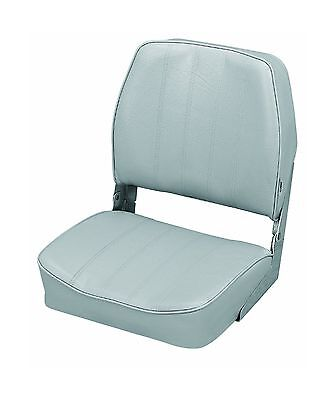 The Wise Company Embossed Vinyl Standard Folding Boat Seat Grey New