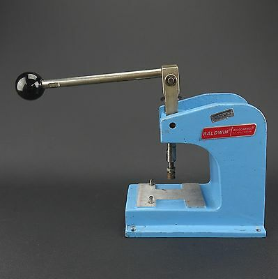"Baldwin Microtrol Corp. Aluminum Hand Punch Press? Balcontrol  9"" x 9"" x 5"""