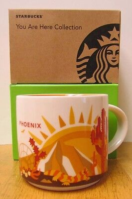 Starbucks Phoenix You Are Here Mug - NIB
