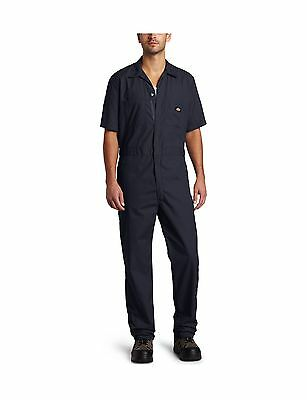 Dickies Men's Short Sleeve Coverall Dark Navy XX-Large Tall New