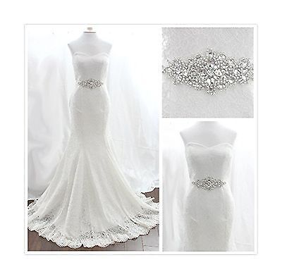 TRLYC White Ribbon Sash Wedding Dress Belt Bridal Belt Sash Belt Pearls B... New