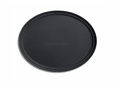 New Star 25453 NSF Plastic Oval Rubber Lined Non-Slip Tray 20.5 by 25.25-... New