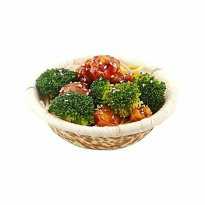Restaurantware Bamboo Leaf Bowl 7-Ounce 50-Count Box 7 oz New