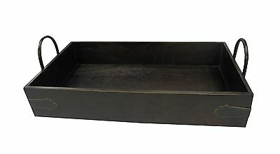 Wald Imports 8539 17-Inch Wood Serving Tray Brown New
