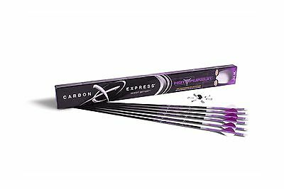 Carbon Express 50609 Hot Pursuit Ultra-Light Fletched Carbon Arrows with ... New