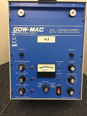 Gow-Mac 350 Model 69-350 Gas Chromatograph Thermal Conductivity Detector
