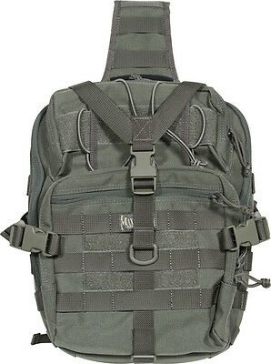 Maxpedition Malaga Gearslinger 0423F Foliage Green. Approximately 660 cu. in. to