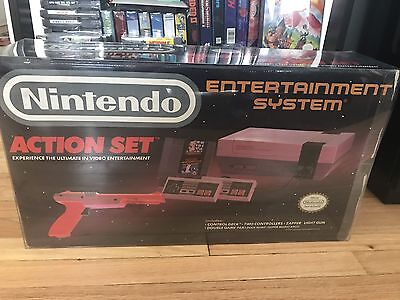1 Box Protector For A Nintendo Entertainment System NES Action Set 0.50mm Thick!