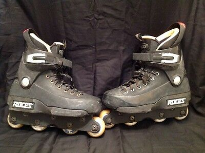 Vintage Roces 5th Fifth Element Aggressive Inline Skates Rollerblades Mens Sz 7
