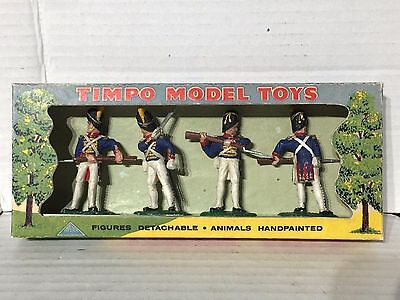 Timpo Solids - Set 309 - Battle of Waterloo Very rare Set