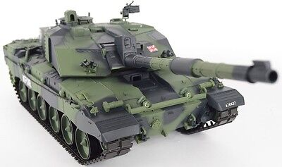 Heng Long 1:16 British Challenger 2 RC Tank - Camo Version