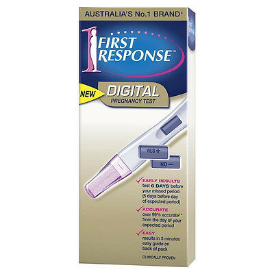 ツ First Response Digital Pregnancy Test 99% Accurate Choose How Many Tests
