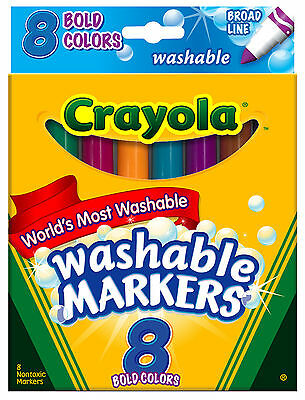 Crayola Bold Markers-Pack of 8