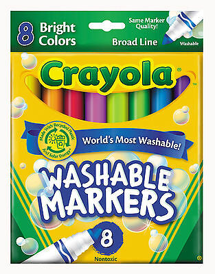 Crayola Bright Color Markers-Pack of 8
